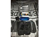 PSP 3000 Electric Blue bundle