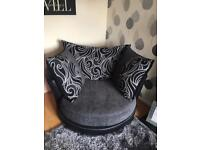 2 seater and large Swivel *immaculate*