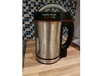 Soup maker/ Smoothie maker Morphy Richards 1.6L - Stainless Steel