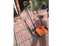 Electric Scarifier/ Aerator + Weed Heat Gun