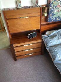 Retro Bedroom set & Tempur Mattress