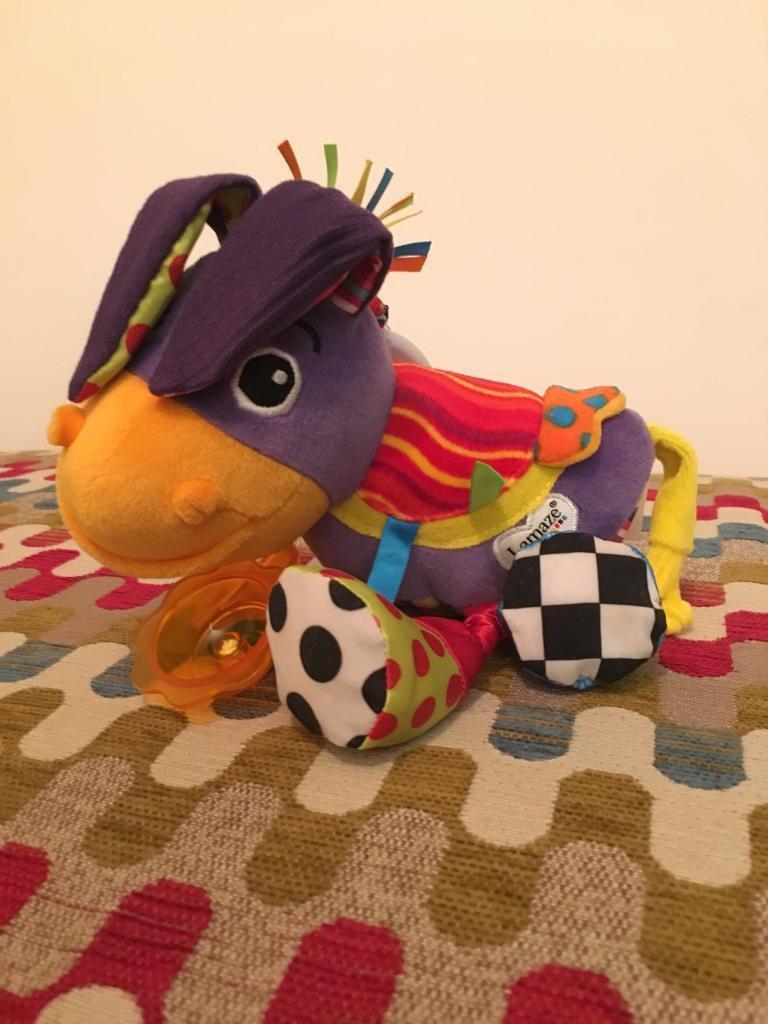 Lamaze donkey toy