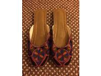 Pakistani traditional shoes