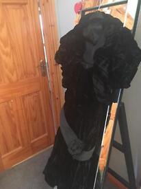 Black party dress & bolero