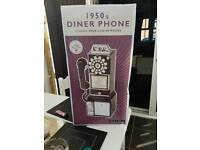 1950s Diner phone brand new in box