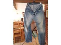 Levis jeans w 36 l 34