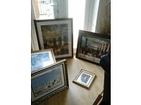 Selection of Pictures and Quality Frames available from £10.00