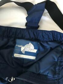 Boys ski snow pants size 8-9