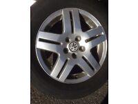 vw 5x100 alloy wheels