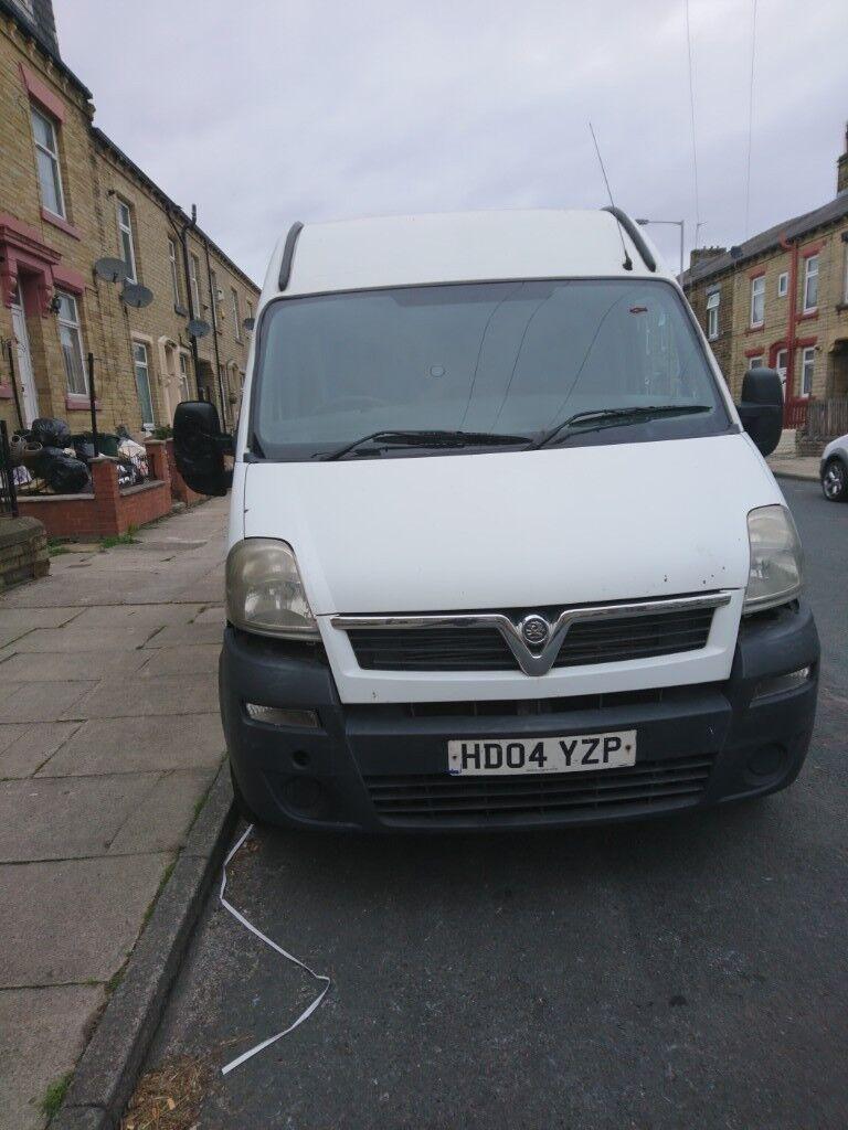 ac41315f936f47 vaoxhall movano lwb van for sale £1450.00 OVNO. Bradford