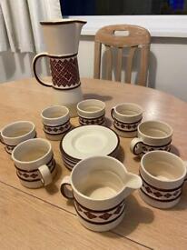 Carlton Ware England Tea Set