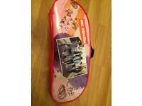 One direction hair dryer and poster
