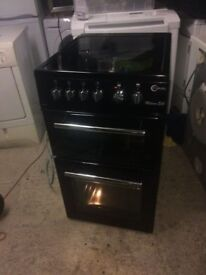 **FLAVEL MILANO 50cm ELECTRIC COOKER**CERAMIC*BLACK*COLLECT\DELIVERY**EXCELLENT CONDITION**NO OFFERS