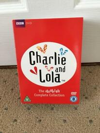 Charlie and Lola DVD 11 disc box set