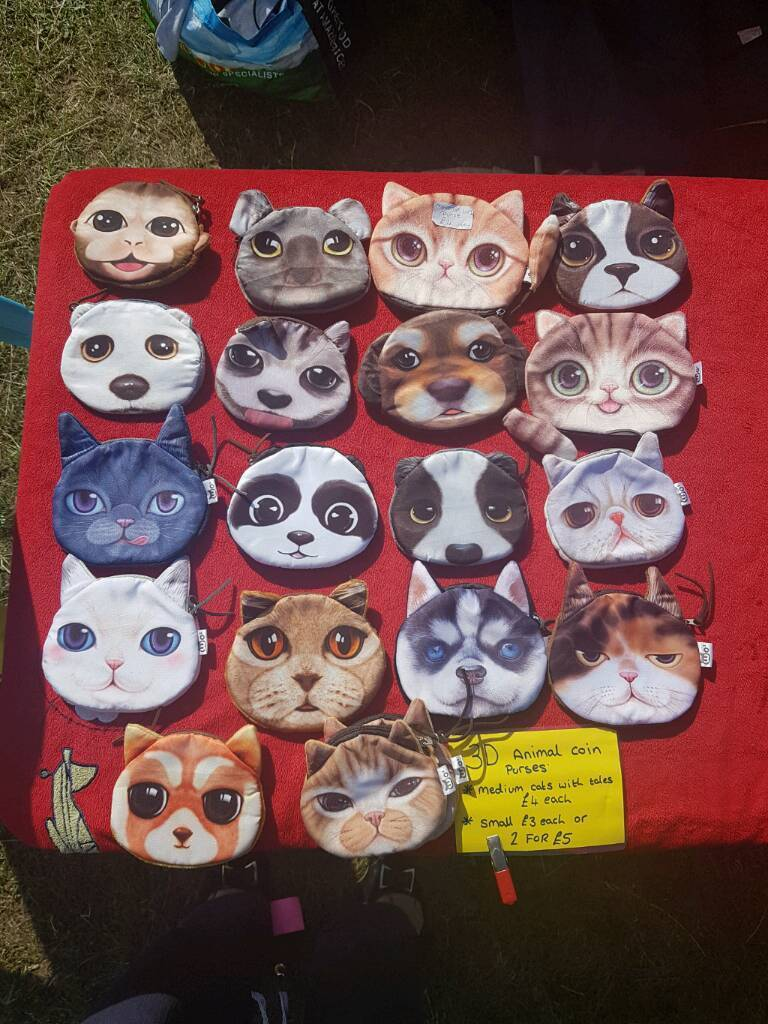 3D Aminal Coin Purse. Kids,Dog,Cat