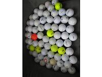 Mixed brands 80 golf balls