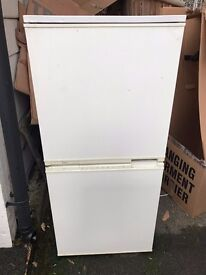 Used LEC Upright Fridge Freezer T2725 Collect Cuffley