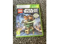 XBOX 360 Lego Star Wars 3 Game