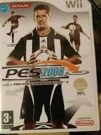 Wii PES football 2008