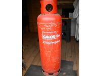 47KG CALOR GAS BOTTLE FULL PROPANE CYLINDER