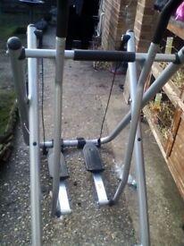 Cross trainer exercise machine air walker!