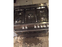 GUSTO Free Range Gas & Electric Cooker 5 Burner Fully Working with 4 Month Warranty