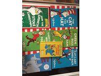 Set of Dr Seuss books