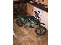 Stomp 140 pit bike