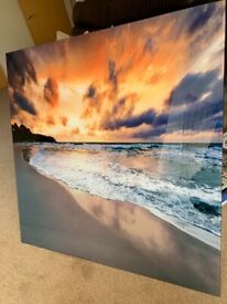 Large Glass wall Art