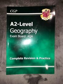 CGP A2 Level Geography (Complete Revision & Practice)
