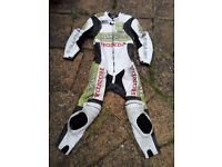 Honda Hannspree 1 Piece CBR Limited Edition Race Leather Motorcycle Suit