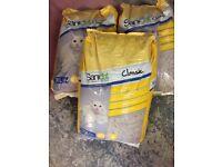 Cat Litter, Sanicat Classic, 3 bags of 30 Litres each
