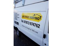 Airspace roofing and building services, roofer