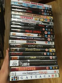 Large DVD Movies bundle