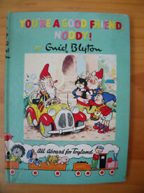 Vintage Noddy Book 16, 1958: 'You're A Good Friend, Noddy!' by Enid Blyton. SBN 361 00417 6.Can post