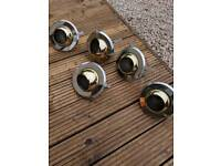 RS 80 Gold Downlights x 5