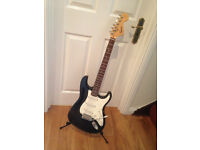 Electric Guitar, Squier Strat by Fender. Affinity Series (Bullet Style).