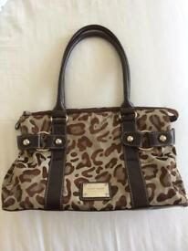 Nine West animal print handbag