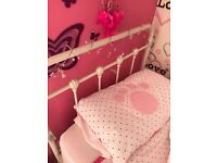 Single Cream single bed