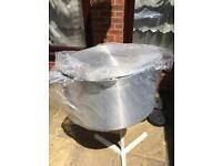 Ex-large catering pot, (65cm diameter) brand new. Can carter for 100guests