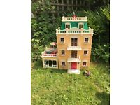 Sylvanian families mansion and furniture