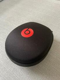 Beats by Dre headphones with case