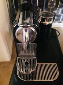 Magimix Nespresso M190 CitiZ & Milk coffee machine including coffee capsule holder