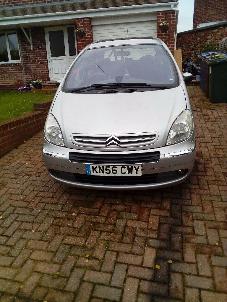 Citroën Xsara Picasso 56 Plate low mileage MOT Oct 2018