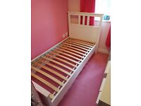 Hardly used bed for sale