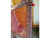 Small size red lengha