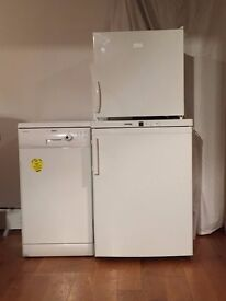 Separate fridge freezer - used but in excellent condition