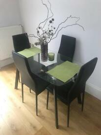 4 seater dining room set
