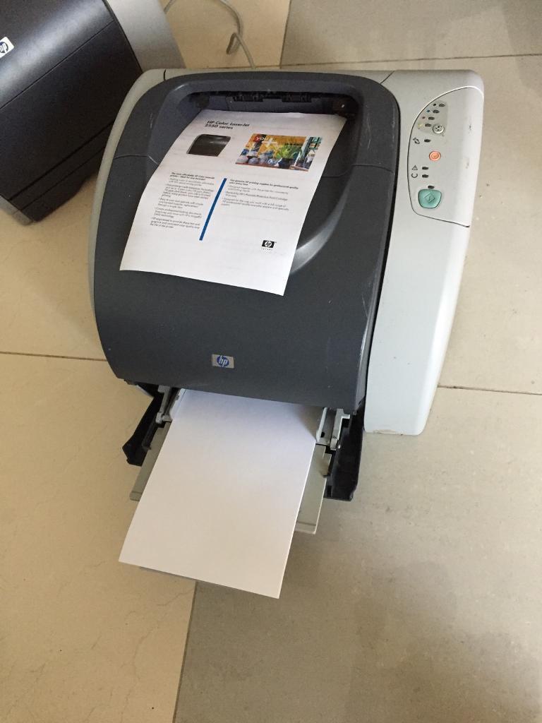 Two Hp Color LaserJet 2550n & 2550ln printers to giveaway
