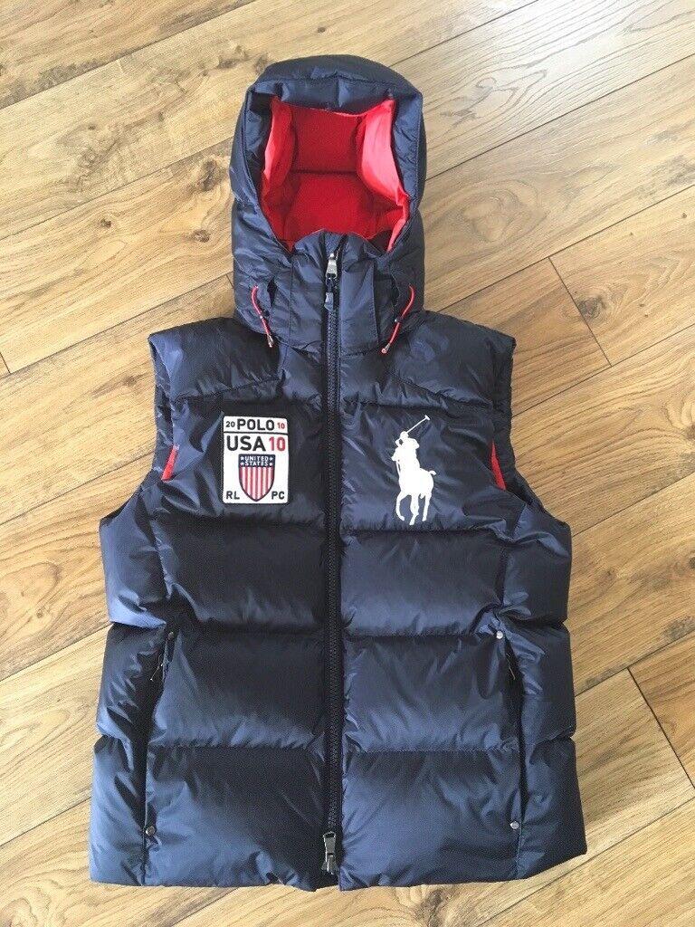 new styles 62e45 473e2 Ralph Lauren men's small gilet / body warmer   in Rochdale, Manchester    Gumtree